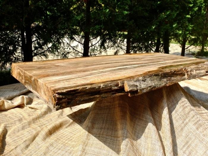 Bien connu Tavolo legno fossile 115x55 cm | Madamanga CQ12