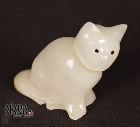 Gatto in Aragonite
